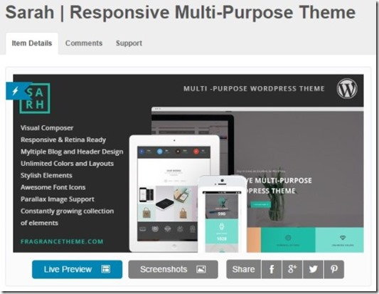 theme forest  responisve themes from $10 to $60