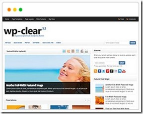 wp clear solostream $59 theme