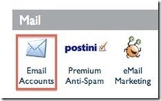 create emailaccount on bluehost cpanel